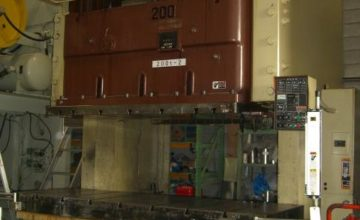 Amada 200T Electric C type press TPW-200 1995