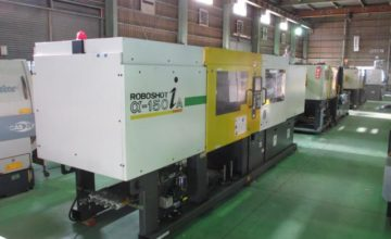Fanuc 150T injection molding machine α-150iA 2001
