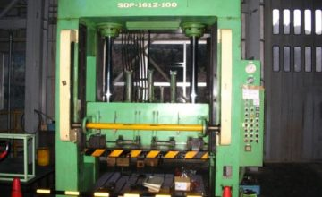 Sankiseiko 100T die spotting press SDP-1612-100T 1982