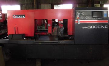 Amada 500mm Band Saw HFA-500CNC 1997