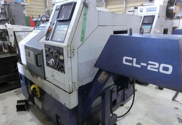 Mori Seiki CNC lathe CL-20A 1993