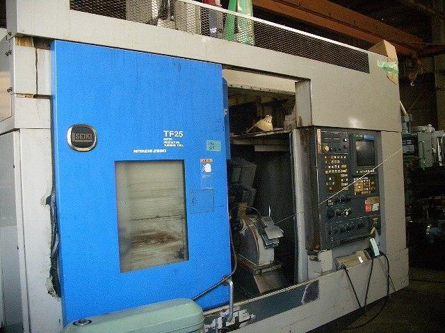 Hitachi Seiki CNC lathe TF25 1997