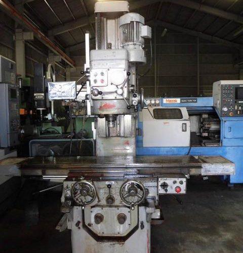 Yamazaki Giken Vertical milling machine YZ-8N 1984