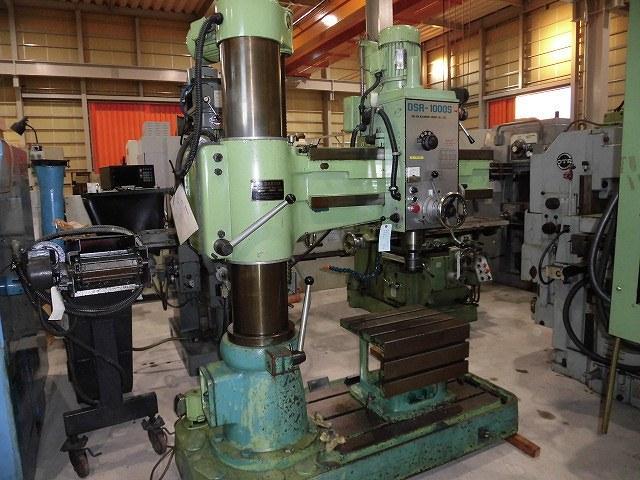 Darsin 1000mm Radial drilling machine DSR-1000S 1991