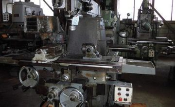 Shizuoka Vertical milling machine VHR-A 1985