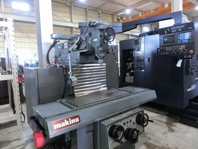 MAKINO NC vertical milling machine AGNC-74 1992