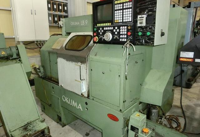 Okuma CNC lathe LB9 1989