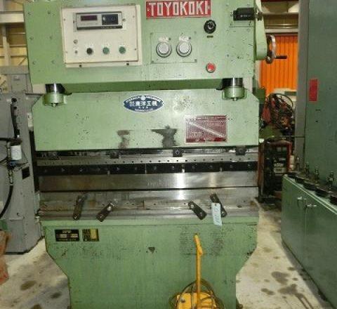 Toyokoki 1.2M Hydraulic Press Brake HPB-3512AS 1981