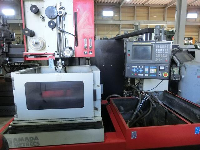 It is Amada wire-cut AD-0ip 2007. This product is shipped from Japan. It is maintained and in good condition.