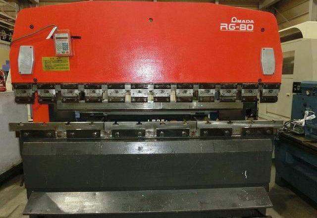 Amada 2.4M Hydraulic Press Brake RFB-8024 1987