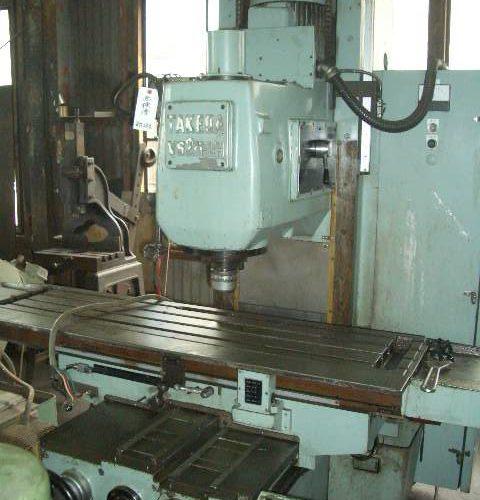 Takeda Vertical milling machine TK-VS2N-LH 1989