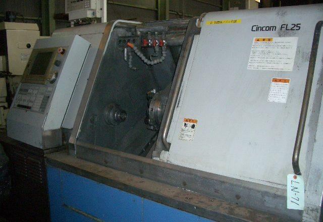Citizen NC automatic lathe FL25 2002
