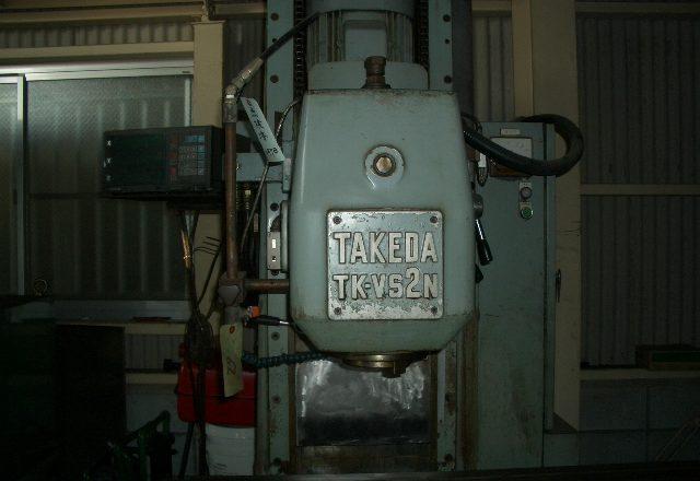 Takeda Vertical milling machine TK-VS2N 1985