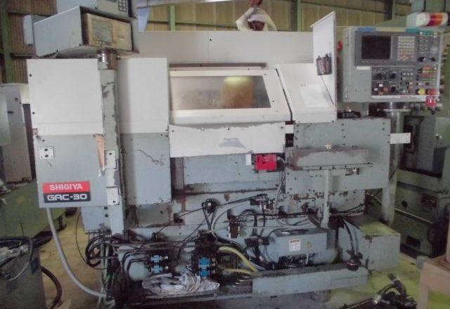 Shigiya Seiki Cylindrical Grinding Machine GAC-30*40 1998