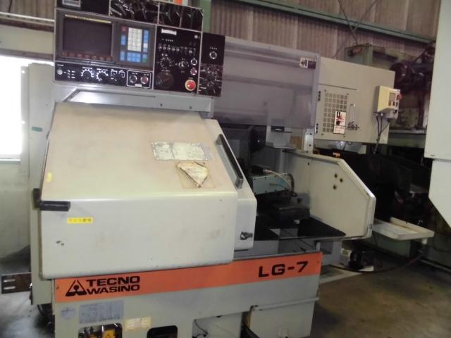 Wasino Comb-Shaped CNC Lathe LG-7 1998
