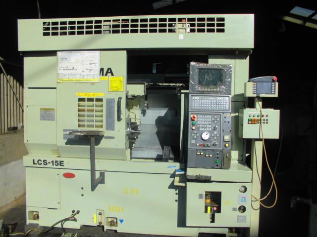 Okuma CNC Lathe LCS-15E 1997
