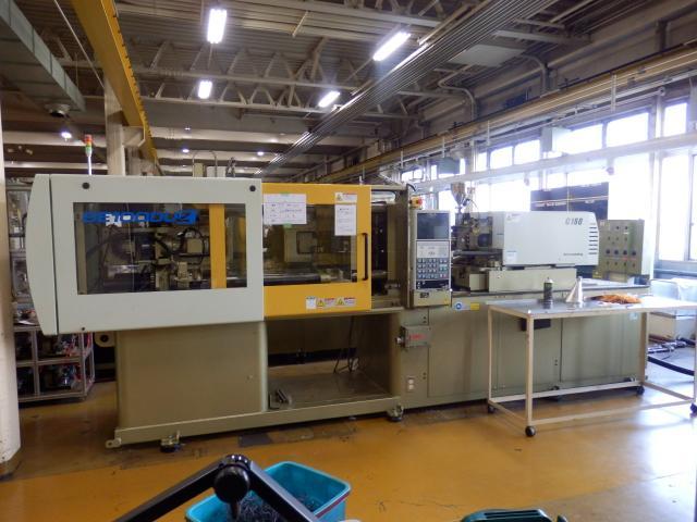Sumitomo 100T Plastic Injection molding machine SE100DUZ-C160 2009