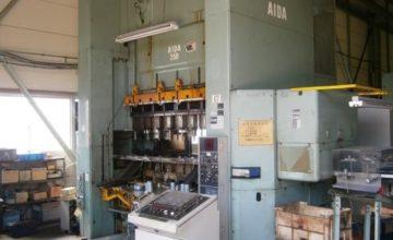 Aida 250T gate type press NCS-250 (2) 1994