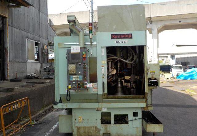 Kashifuji CNC Hobbing Machine KN151CNC 2002