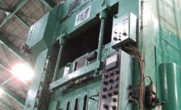 Endo 150T gate type press DG 2 P 150 - 135 - 90 1969