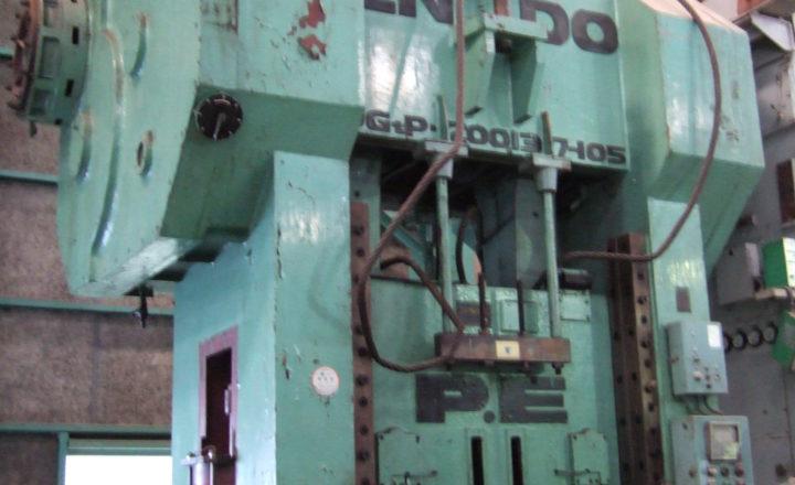 Endo 200T gate type press DG 2 P 200 - 137 - 105 1968