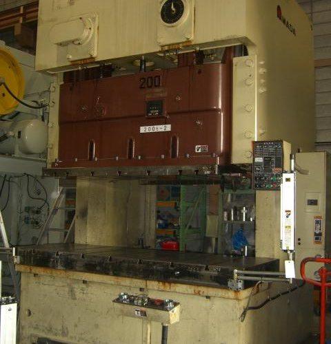 Amada 200T Electric C type press TPW-200 1995