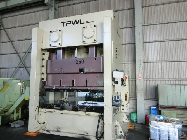Amada 250T Electric C type press TPWL-250 2007
