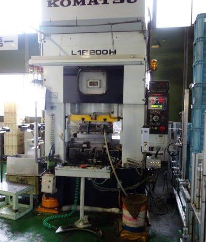 Komatsu 200T Electric C type press L1B-200H 1990