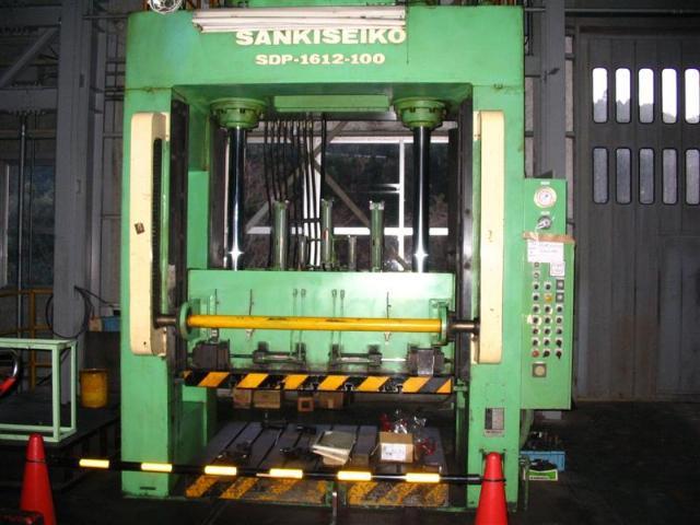 Sankiseiko 100T die spotting press SDP-1612-100T 1982