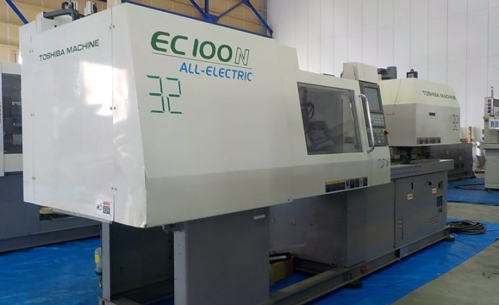 Toshiba 100T injection molding machine EC100N-2Y 2004