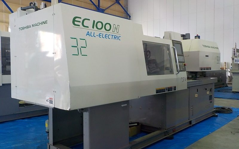 Toshiba 100T injection molding machine EC100N-2Y 2004